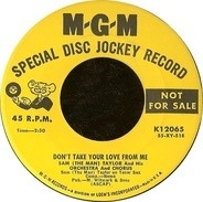 Sam Taylor And His Orchestra - Don't Take Your Love From Me / As Time Goes By