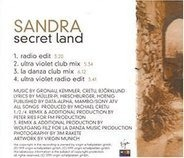 Sandra - Secret Land