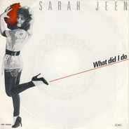 Sarah Jeen - What Did I Do