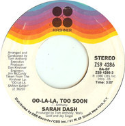 Sarah Dash - Oo-La-La, Too Soon