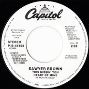 Sawyer Brown - This Missin' You Heart Of Mine