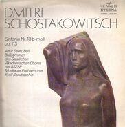 Schostakowitsch - Sinfonie Nr 13