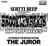 Scotti Deep - Brooklyn Beats Import Mixes