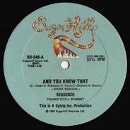 Sequence - And You Know That