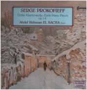 Sergei Prokofiev , Abdel Rahman El Bacha - Frühe Klavierwerke op. 1-4