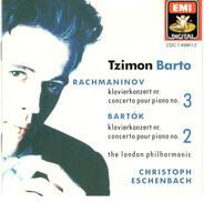 Sergei Vasilyevich Rachmaninoff , Béla Bartók - Tzimon Barto , The London Philharmonic Orchestra , - Rachmaninov: Klavierkonzert Nr. 3 = Concerto Pour Piano No. 3 · Bartók: Klavierkonzert Nr. 2 = Conc