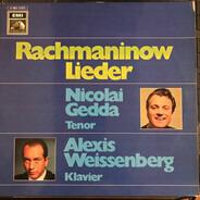 Rachmaninov (Gedda, Weissenberg) - Lieder