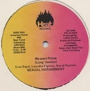 Sexual Harrassment - We Want Prince