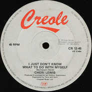 Shirley Lewis - I Just Don't Know What To Do With Myself