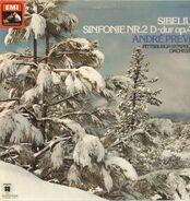 Jean Sibelius , Большой Симфонический Оркестр Всесоюзного Радио , Gennadi Rozhdestvensky - Sinfonie Nr. 2 D-dur Op. 43