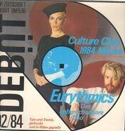 Simple Minds, Billy Idol a.o. - Debut LP / Zeitschrift Ausgabe 3 (02/84)