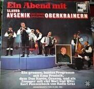 Slavko Avsenik Und Seine Original Oberkrainer - Ein Abend Mit Slavko Avsenik Und Seinen Original Oberkrainern