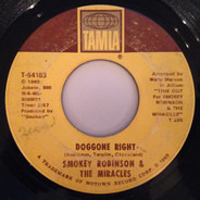 Smokey Robinson & The Miracles - Doggone Right / Here I Go Again