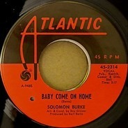 Solomon Burke - Baby Come On Home