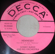 Sonny Burke And His Orchestra - Hennesey / Martha