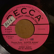 Sonny Burke And His Orchestra - Theme From 'Auntie Mame' / Bye Bye Blues
