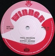 Sophia George - Final Decision