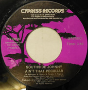 Southside Johnny - Ain't That Peculiar