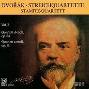 Stamitz-Quartett - Dvorak: Streichquartette Vol. 3
