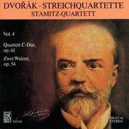 Stamitz-Quartett - Dvorak: Streichquartett Nr. 11 / Walzer Nr. 1 und 4