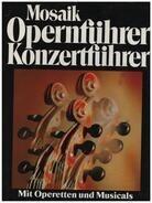 Stephan Pflicht - Mosaik Opernführer - Konzertführer mit Operetten und Musicals