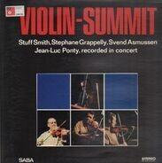 Stuff Smith / Stéphane Grappelli / Svend Asmussen / Jean-Luc Ponty - Violin-Summit