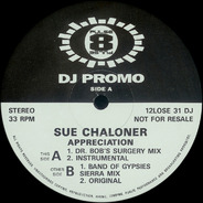 Sue Chaloner - Appreciation