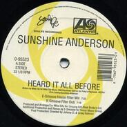 Sunshine Anderson - Heard It All Before (Dance Remixes)