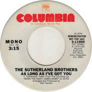 Sutherland Brothers - As Long As I've Got You