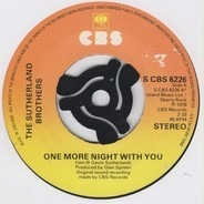 Sutherland Brothers - One More Night With You / Sunbird