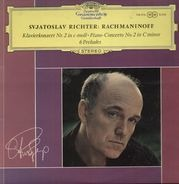 Svjatoslav Richter - Rachmaninoff - Klavierkonzert Nr.2 c-moll, 6 Preludes