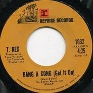 T. Rex - Bang A Gong (Get It On) / Raw Ramp
