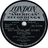 Tab Hunter - Young Love / Red Sails In The Sunset