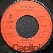 Tavares - Free Ride / In The Eyes Of Love