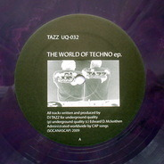 Tazz - The World Of Techno EP.