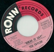 Ted Taylor - Break Of Day / Fair Weather Woman