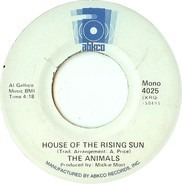 The Animals - House Of The Rising Sun / Bring It On Home
