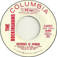 The Buckinghams - It's A Beautiful Day (For Lovin') / Difference Of Opinion