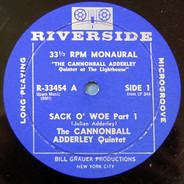 The Cannonball Adderley Quintet - Sack O' Woe