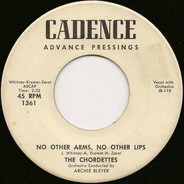 The Chordettes - No Other Arms, No Other Lips