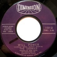 The Cookies - Will Power / I Want A Boy For My Birthday