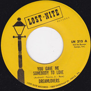 The Dreamlovers - You Gave Me Somebody To Love / Doin' Things Together With You