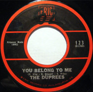 The Duprees - You Belong To Me / Take Me As I Am