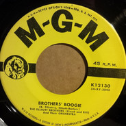 The Elliott Brothers Orchestra - Brothers' Boogie / Grandma's Song