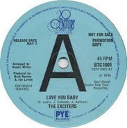The Exciters - Love You Baby