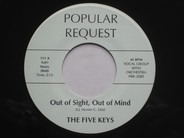 The Five Keys - Out Of Sight, Out Of Mind