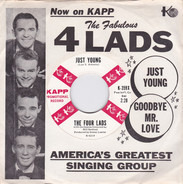 The Four Lads - Goodbye Mr. Love