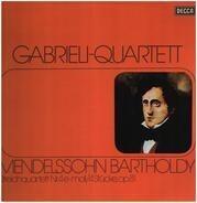 The Gabrieli String Quartet , Felix Mendelssohn-Bartholdy - Streichquartett Nr. 4 E-moll / Vier Stücke, Op.81