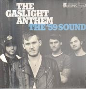 The Gaslight Anthem - The '59 Sound (transparent W/Black Streaks)
