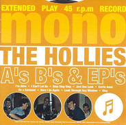 The Hollies - A's B's & EP's